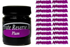 PRIVATE RESERVE - Fountain Pen Ink Bottle - PLUM -  66ml - New