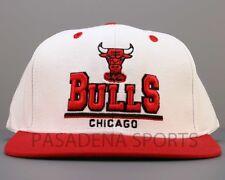"CHICAGO BULLS SNAPBACK CAP / HAT ""ADIDAS"" NWT nba jordan pippen rose"