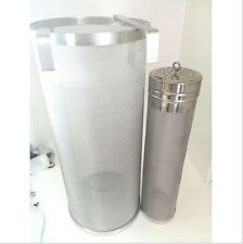 Stainless 2 Piece Hop 300 Micron Filter Homebrew Kit