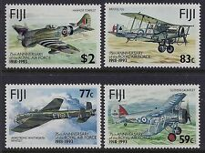 1993 FIJI 75th ANNIVERSARY OF THE ROYAL AIR FORCE SET OF 4 FINE MINT MNH/MUH
