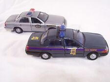 1/43 MISSISSIPPI & MISSOURI STATE TROOPER GEARBOX LIMITED EDITION PAIR