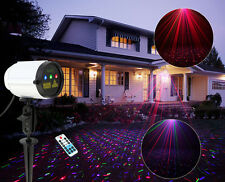 SUNY Xmas Outdoor Waterproof Laser Projector RGB Full Color Dots Show Light Yard