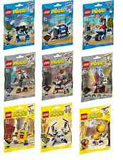 NEW LEGO MIXELS SERIES 7 - Complete Collection - Mixies/MCPD/Knights