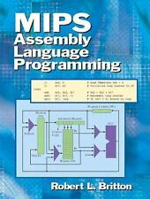 MIPS Assembly Language Programming by Robert Britton ~ Like New! ~ Make Offer!