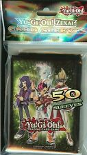 YU-GI-OH ZEXAL CARD maniche pacco 50 TOURNAMENT Legal Maniche