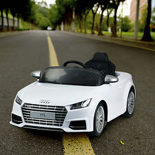 Licensed Audi TTS Kids Ride on Car 6V Electric Battery Powered Children Toy MP3
