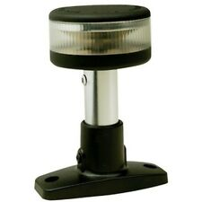 4 Inch LED Fixed Mount All Around White Navigation Light for Boats - 2 Mile