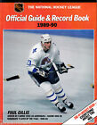 OFFICIAL GUIDE & RECORD BOOK 1989-90 NATIONAL HOCHEY LEAGUE QUEBEC NORDIQUES