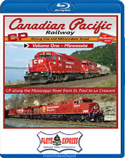 Canadian Pacific Railway Vol 1 Minnesota BLU-RAY NEW CP St Paul to La Crescent