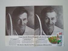 advertising Pubblicità 1983 OLIO MAZOLA