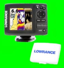 New Lowrance Elite-5 HDI Fishfinder/Chartplotter GPS + Transducer + Suncover