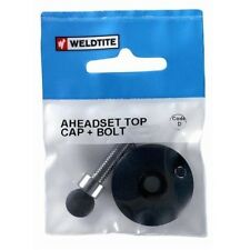 "Bike Ahead Alloy Top Cap & Bolt For 1 1/8"" (28.6mm) Cycle Headset"