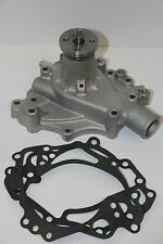 FORD 351C 351M 400 HIGH FLOW SATIN ALUMINUM WATER PUMP DRIVERS SIDE INLET ST ROT