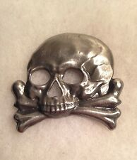 W.W.  I  IMPERIAL GERMAN HAT SKULL