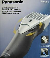 *NEW* PANASONIC ER206 Rechargeable Electric Hair Beard Trimmer Clipper 220-240V