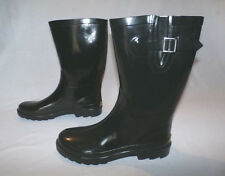 Western Chief Women's Tall Rubber Rain Boots Black Size 11