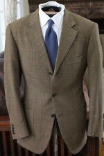 CARUSO is my SHEPHERD Micro Houndstooth Check Plaid Patch Pocket Tweed Cashmere