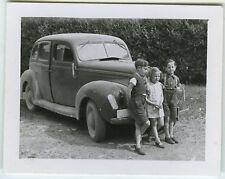 PHOTO - VOITURE TRACTION ENFANT - CAR CHILD AUTO - Vintage Snapshot