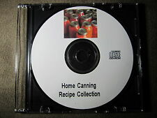 Home Canning Recipes Canning Drying 35 Full Length Books & Guide Collection