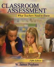 Alternative eText Formats: Classroom Assessment : What Teachers Need to Know...