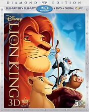 The Lion King (3D Blu-ray+Blu-ray+DVD+Digital Copy, With Lenticular Slipcover