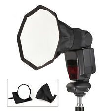 20cm Small Octagonal Softbox with Carry Bag for Camera Speedlite/Flash Gun