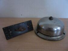 Antique 1893 R&E Russel & Erwin Doorbell #100 + Twist Door Plate