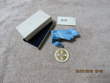 Scout Leader Eastern Orthodox Religious Medal W/Neck Ribbon in Presentation Box