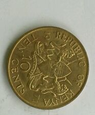 1971 kenya 10 cents coin