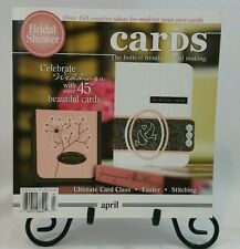 Cards Specialty Magazine Book April Papercrafting Card Making Idea Book