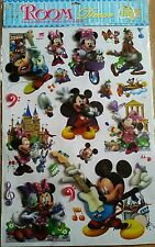 6D MICKEY MOUSE CLUBHOUSE large vinyl self adhesive pop-up wall decals stickers