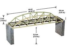 Noch 62830 - Laser-Cut Argenbrücke mit Brückenköpfen - Spur N - NEU