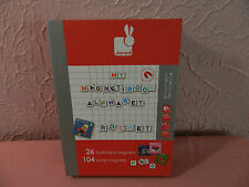 Janod Magneti Book Alphabet Magnet Magnetic Letters Pictures Child Homeschool