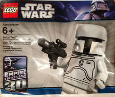 VERY RARE lego star wars WHITE BOBA FETT minifigure polybag SEALED promo figure