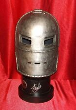 STAN LEE SIGNED MUSEUM REPLICAS WINDLASS IRON MAN HELMET COA + GREG HORN PRINT