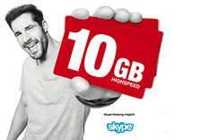 10GB Internet Flat / Ortel mobile / 10GB Datenflat 30 Tage / 4G LTE