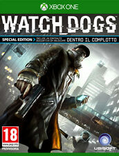 Watch Dogs D1 Day One Special Edition XBOX ONE IT IMPORT UBISOFT