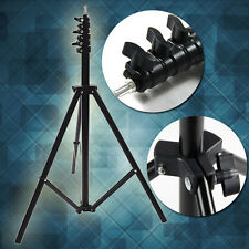 2.4m 8ft Collapsible Set Light Stand Tripod for Photo Studio Video Lighting