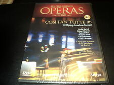 "DVD NEUF ""COSI FAN TUTTE VOL.2 II - Mozart"" Les plus grands operas N°46"