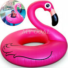 Inflatable Giant Flamingo Shape Swimming Pool Fun Toys Water Float Raft Ring