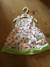 M&S Marks & Spencer Baby Girl Nautical Theme Dress Set 3-6 Months BNWT