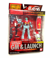 "2004 Mobile Suit GUNDAM RGM 79 LAUNCH 5"" action figure by Bandai anime manga"