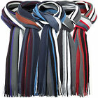 Charles Wilson Men's Thick Stripe Gift Warm Winter Knitted Scarf New 2015