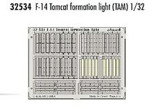 Eduard 1/32 F-14 Tomcat formation light for Tamiya kit # 32534