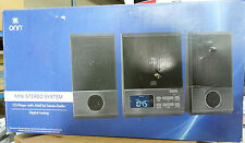 ONN ONA13AV503 MINI STEREO SYSTEM CD PLAYER AM/FM DIGITAL TUNER STEREO RADI