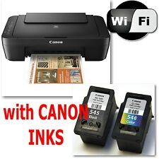 CANON Pixma MG2950 All in One WIRELESS PRINTER SCANNER COPIER with INKS