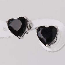 Swarovski crystal heart 18K white gold filled Glamorous lover's stud earring