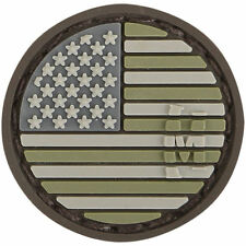 PVC Patch MAXPEDITION USA US FLAG - MICRO circle - New for 2015 - ARID hook back