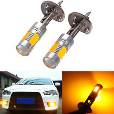 2x Xenon Yellow 33-SMD H1 5730 HID LED Bulbs For DRL Driving or Fog Lights Chevy