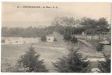 CPA 17 - CHATELAILLON (Charente Maritime) - 43. La Place - L. C.